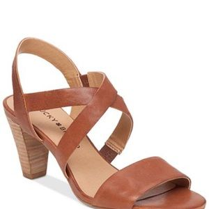 LUCKY BRAND || Pacora Almond Brown Strappy Sandal